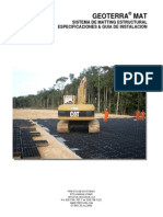 GEOTERRA Specification and Installation Guideline-Esp