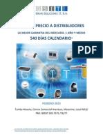 Catalogo de Cctv y Acceso Distribuidor Marzo 2014