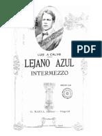 Luis A. Calvo. Intermezzo No.2