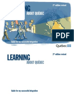 Learning About Quebec