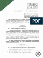 Instrução Normativa INCRA 70 de 06-12-2011