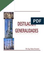 1.1 Destilación generalidades