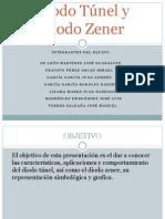 Diodo Túnel y Diodo Zener presentacion