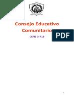 Consejo Educativo Comunitario