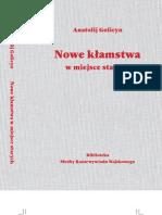 Golicyn Anatolij - Nowe Klamstwa w Miejsce Starych, r. 1-25