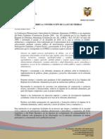 LEY DE TIERRAS INFORME  CONSTRUCCIÓN  - COPISA