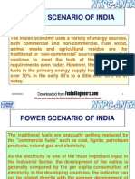 Power Scenario of India