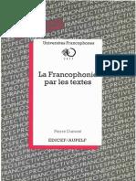 Dumont 1992 La Francophonie Par Les Textes