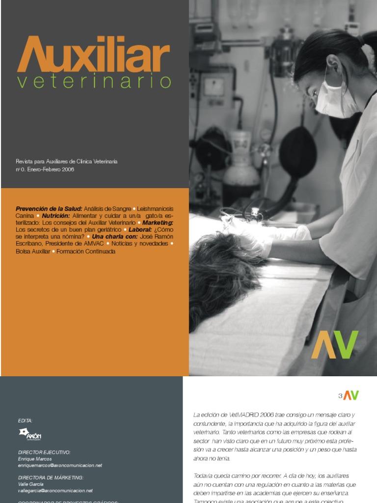 Auxiliar Veterinario Nº 00