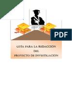 Guía Práctica para la Redacción del Proyecto de Investigación 2
