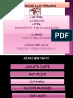 Diapositiva de Sociologia