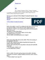 CCNA 2 Final 1 Version 4.0 Answers