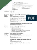 rowland bre- resume