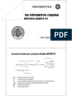 07.00 DISEÑO DE PAVIMENTOS FLEXIBLES ASSHTO 93