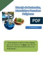 Manejo de Sustancias, Materiales y  Desechos Peligrosos.ppt