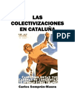 Las colectivizaciones en Cataluña, de Carlos Semprún-Maura