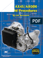 ATRA Ford AX4S AX4ODE Rebuild Procedures