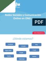 Redes Sociales y Comunicación Online en ONG´s