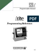 Programacion Referencia i920 Manual