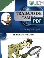 4. Sesion Trabajo de Campo