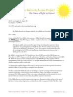 LAPD public records violations