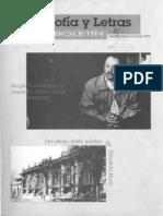 01 Boletin Filosofia y Letras Septiembre Octubre 1994 Num 1