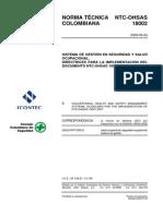 OHSAS 18002 - 2009(ES)