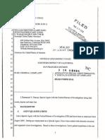 Leland Yee Affidavit