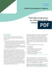Teenpreg Evidence Overview