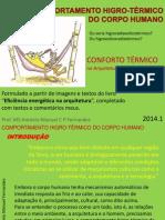 Conforto Térmico - CorpoHumano