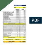Costo Total Del Programa