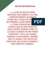 EXAMEN DE MATEMATICA1