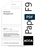 15083755 ACCA F9 Financial Management Solved Past Papers 2