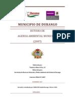 Agenda Ambiental Del Municipio de Durango. (Click Aqui) (1)