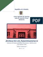 Extractos de Jurisprudencias.r.p.a. Menor Infractor. Marzo de 2013