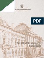 Raport Inflatie Si IPC