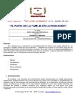 el papel de la familia en la educación (1)