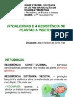 Fitoalexinas e a Resistencia de Plantas a Insetos