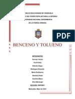 Modificado (c.c) Benceno y Tolueno.