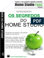 Os Segredos Do Home Studio - Por Rodrigo Marques