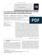 Self-Assembled Natural Rubber Multi Walled Carbon Nanotube Composites Using Latex Compounding Techniques