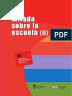 Una Mirada Sobre La Escuela (II). 40 Indicadores Educativos