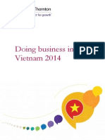 Doing Business in Vietnam 2014