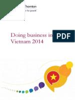 Doing Business in Vietnam 2014