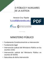 MinisterioPublico Auxiliares Justicia HoracioCruz
