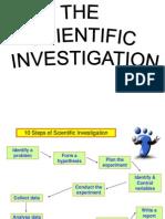 The Scientific Investigation