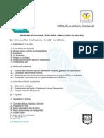 Programa Delegacional de Desarrollo Miguel Hidalgo 2012 2015