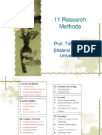 The Steps in Linguistics Research