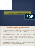 14 - Neoconstituicionalismo