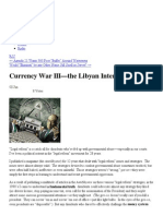 Currency War III—the Libyan Intervention to save the US dollar « Adask's law